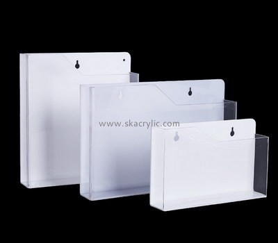 Customize clear wall mount file holder BH-1511