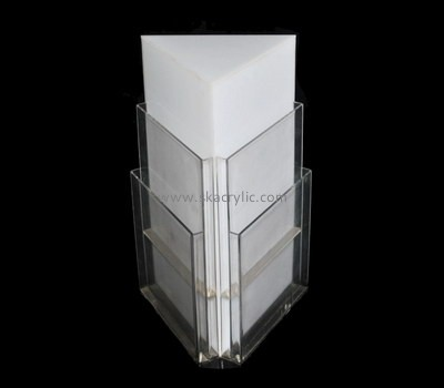 Customize acrylic 6 pocket brochure holder BH-1521