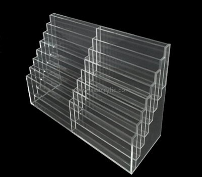 Customize perspex tiered brochure holder BH-1548