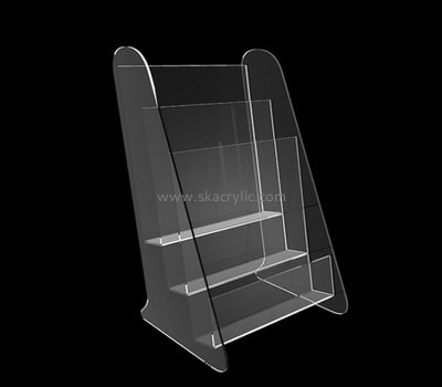 Customize acrylic standing literature holder BH-1554