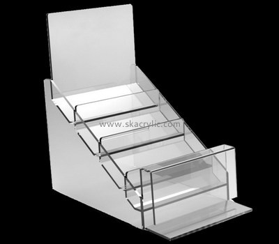 Customize acrylic counter pamphlet holder BH-1560
