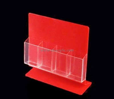 Customize lucite 4 pocket brochure holder BH-1569