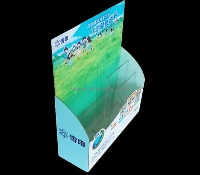 Customize lucite pamphlet holder BH-1576