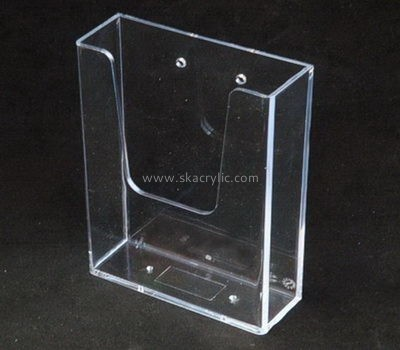 Customize acrylic clear wall file holder BH-1588