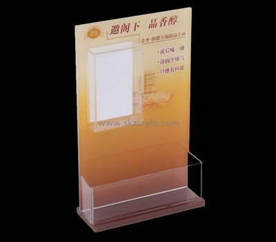 Customize perspex a4 literature holder BH-1636