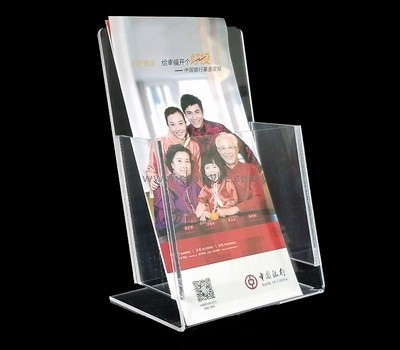 Customize clear plastic literature holder BH-1655