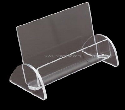 Customize acrylic cool business card holders BH-1665