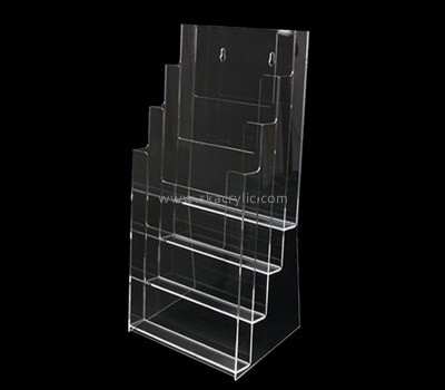 Customize perspex clear pamphlet holder BH-1723