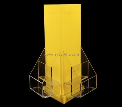 Customize clear a5 literature holder BH-1757