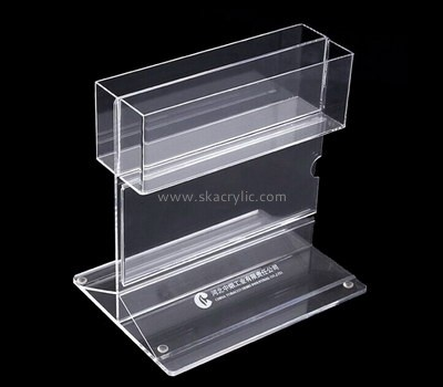 Customize lucite clear literature holder BH-1758