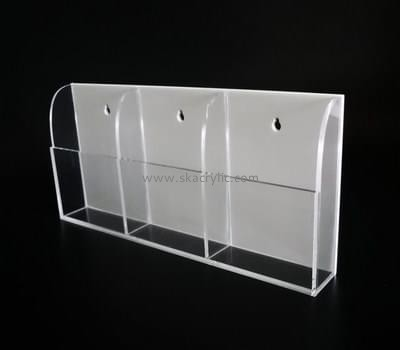 Customize lucite a5 brochure holder wall mounted BH-1767