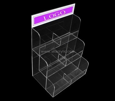 Customize perspex tiered brochure holder BH-1781
