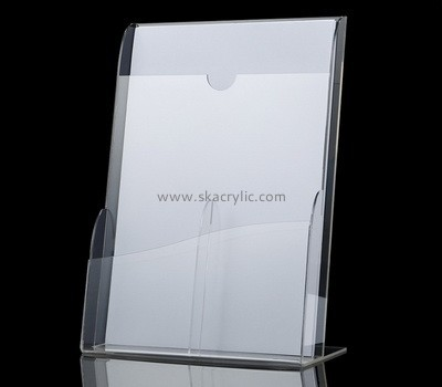 Customize perspex brochure size literature holder BH-1789