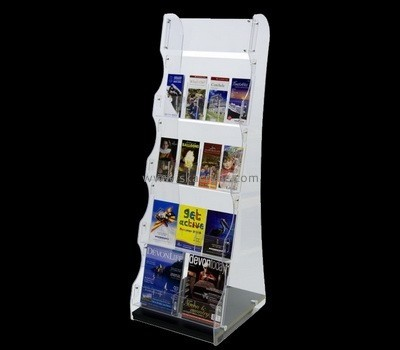 Customize lucite free standing literature holder BH-1795