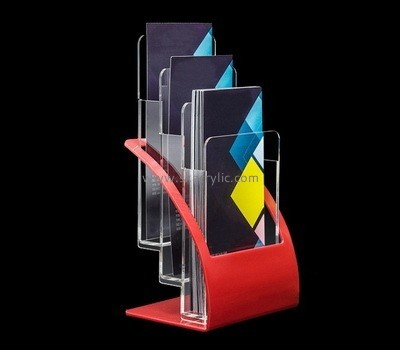 Customize lucite 3 pocket brochure holder BH-1799