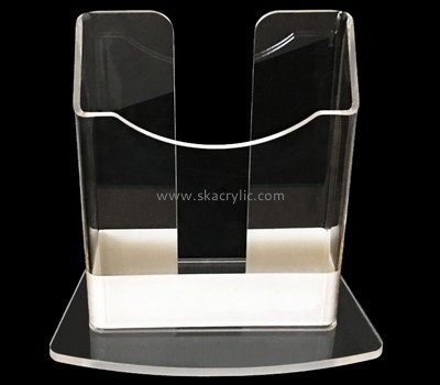Customize lucite dl leaflet holder BH-1805