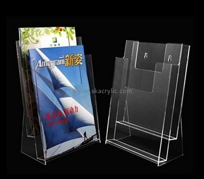 Customize plexiglass leaflet holder stand BH-1807