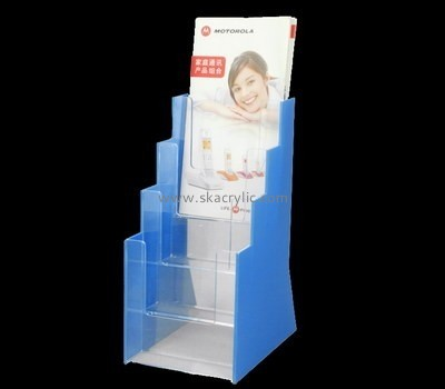 Customize acrylic tiered literature holder BH-1817
