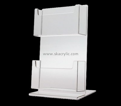 Customize acrylic business card display stand BH-1827