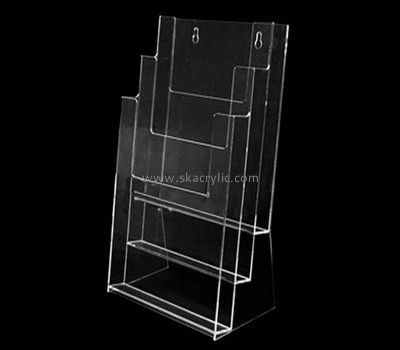 Customize perspex three tier brochure holder BH-1835