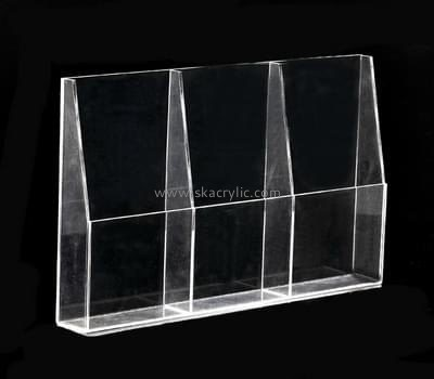 Customize lucite a6 brochure holder BH-1845