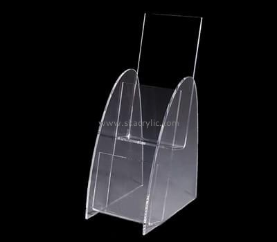 Customize perspex dl acrylic brochure holder BH-1857