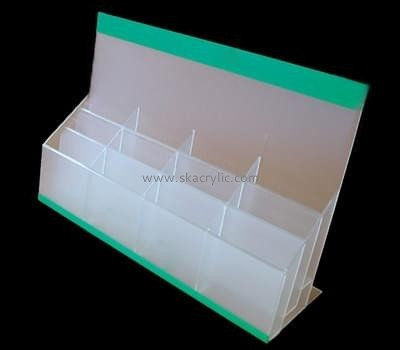 Customize perspex multi pocket brochure holder BH-1861