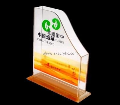 Customize acrylic cool magazine holder BH-1874