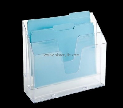 Customize perspex standing file folder holder BH-1889
