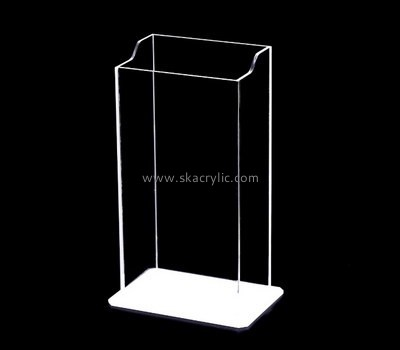 Customize plexiglass brochure display stand BH-1895
