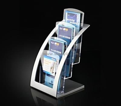 Customize lucite literature display rack BH-1897