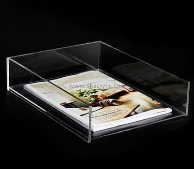Customize clear horizontal file holder BH-1901