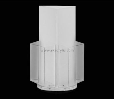 Customize acrylic rotating brochure display stand BH-1907