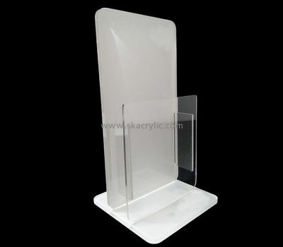 Customize acrylic a4 brochure display stand BH-1920