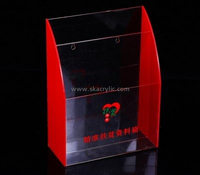 Customize acrylic literature holder for wall BH-1924