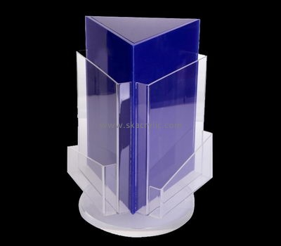 Customize perspex rotating literature holder BH-1927