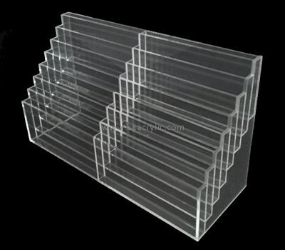 Customize acrylic standing magazine rack BH-1937