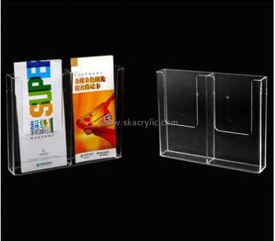 Customize lucite wall pamphlet holder BH-1940