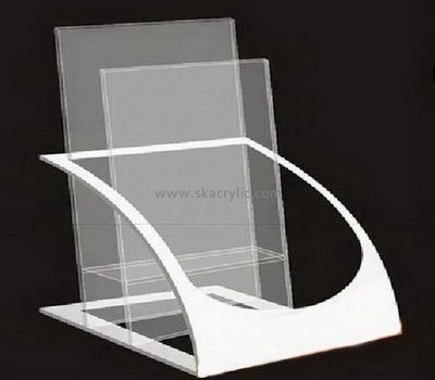 Customize lucite literature rack holder BH-1953