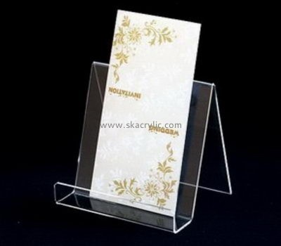 Customize acrylic literature rack holder BH-1952