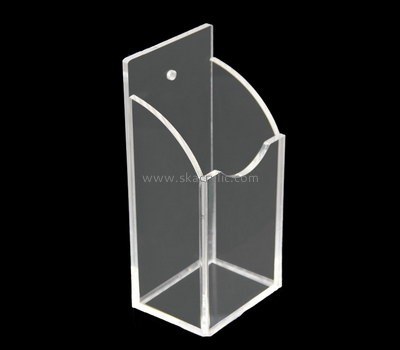 Customize plexiglass wall hanging brochure holder BH-1976
