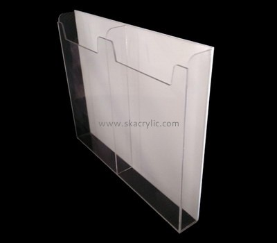 Customize acrylic literature holder wall BH-1979