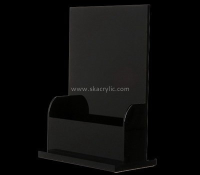 Customize lucite brochure holder design BH-1984