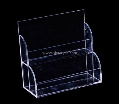 Customize perspex 2 tier literature holder BH-1996