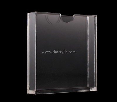 Customize acrylic magazine holder for sale BH-2009
