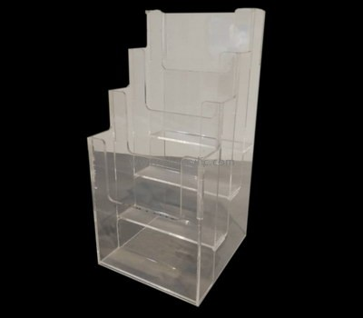 Customize perspex a4 free standing leaflet holder BH-2010