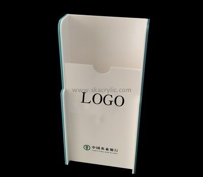 Customize perspex brochure rack freestanding BH-2022