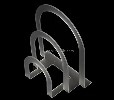 Customize acrylic standing brochure rack BH-2025