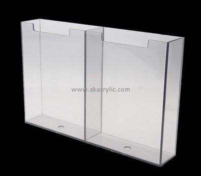 Customize perspex pocket brochure holder BH-2029