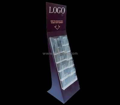 Customize acrylic brochure rack freestanding BH-2034